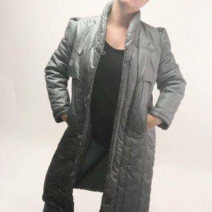 Vintage 70's 80's long puffer jacket coat classic